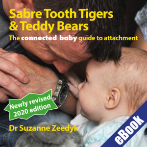 Suzanne Zeedyk - connected baby Teddy Tiger eBook Book